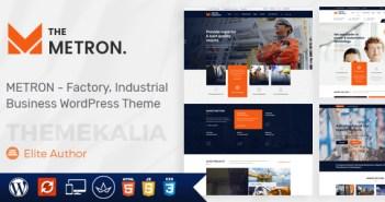 temas de WordPress para la industria y los negocios de fábrica