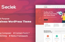 Seclek - Tema de WordPress multipropósito