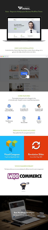 Tema de WordPress Winnex