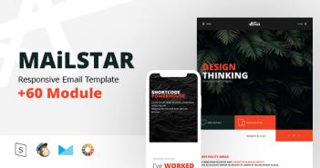 MailStar - E responsive multipropósito