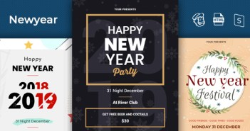 Newyear - Responsive Email + StampReady Builder