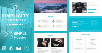 Simplicity Responsive Email Templates
