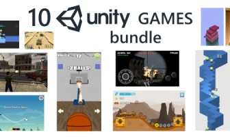 10 Unity Games Premium Bundle (con anuncios de Admob)