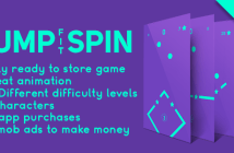 Jump Spin Fit - Plantilla de Android del divertido juego de arcade + fácil de reskine + AdMob