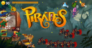 Swamp Zombie Attack - Pirate Kings (Android e iOS)
