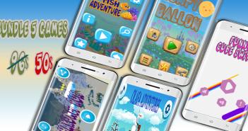 Juegos Mega Bundle 5 - Estudio de Android Project con Admob