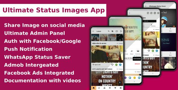 Apps Para Móviles Aplicación Ultimate Status Image