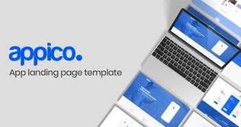 Appico | Plantilla de la página de destino de la aplicación