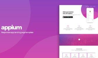 Appium   Plantilla de la página de destino de la aplicación