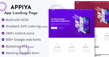 Appiya - Página de inicio de la aplicación