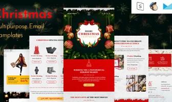 Plantilla de correo electrónico que responde a la Navidad + Generador en línea