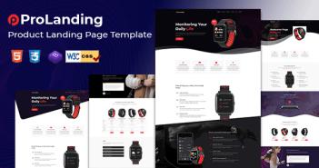 Prolanding - Página de destino del producto