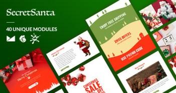SecretSanta Email-Template + Constructor en línea
