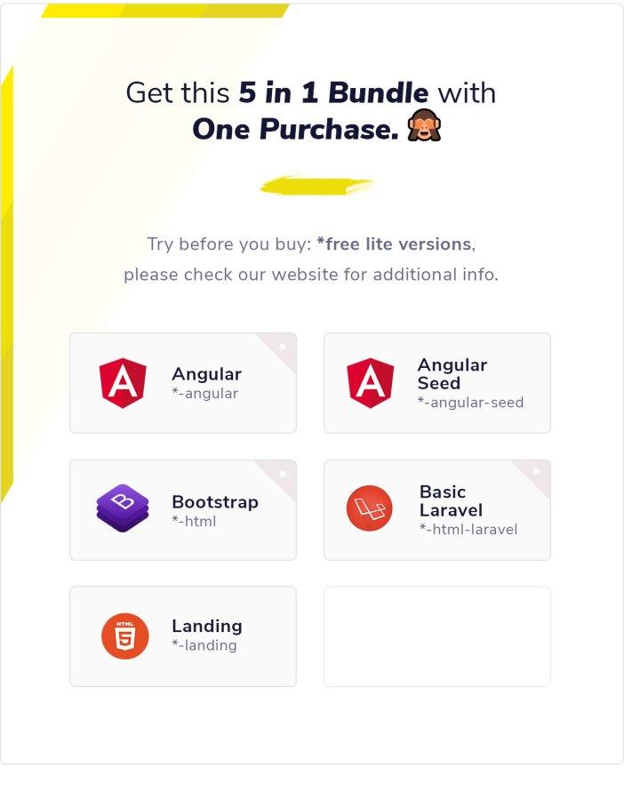Clean UI Angular Pro - Angular NgRx Admin Template + Html Version - 7