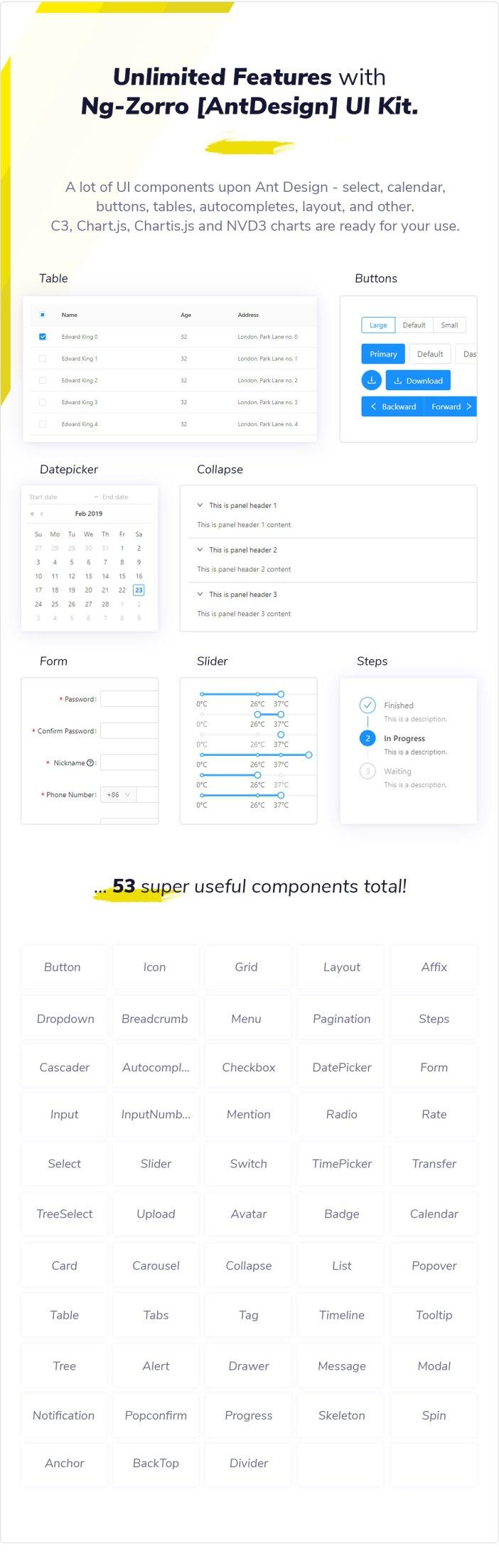 Clean UI Angular Pro - Angular NgRx Admin Template + Html Version - 9