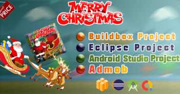 MerryChristmas - Buildbox - Eclipse - Android Studio Project