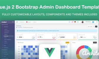 ArchitectUI - Vue.js Bootstrap Admin UI Dashboard Template