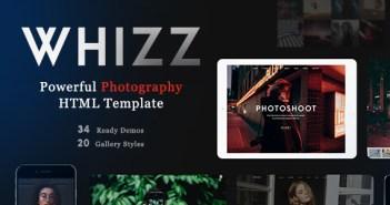 Whiz - Plantilla HTML para Fotografía