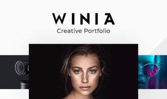 Winia - Plantilla Creative Ajax Portfolio