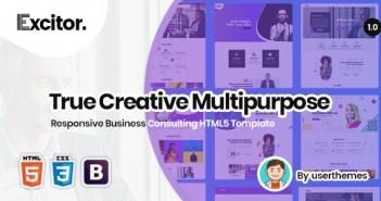 Excitador | Plantilla HTML5 Responsive Business Consulting