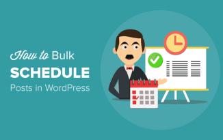 programar publicaciones en WordPress