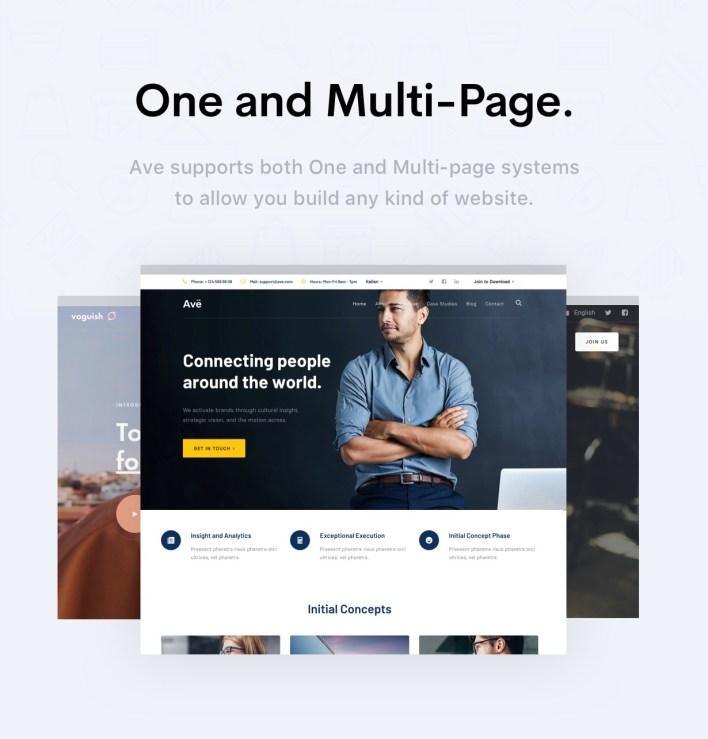 Ave - Plantilla HTML de respuesta multipropósito - 13