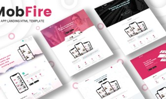 Mobfire | Creative HTML5 App Landing Page