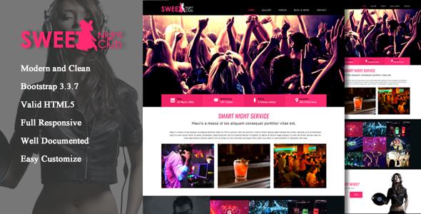 plantillas html para bandas de música
