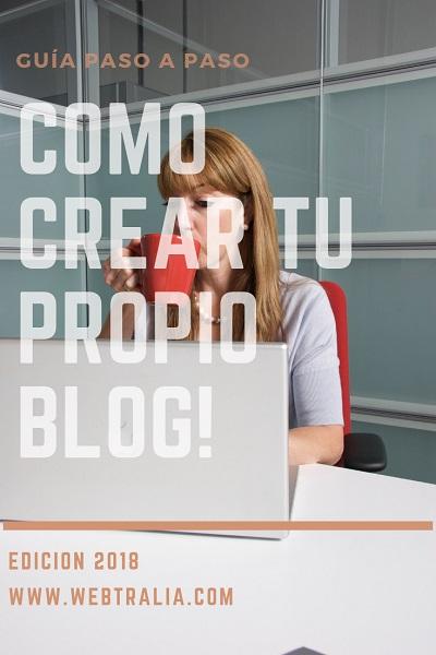 como hacer tu propio blog en internet