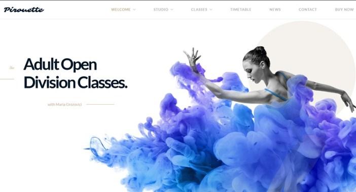 temas wordpress academias de baile