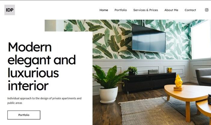 plantillas wordpress diseño de interiores