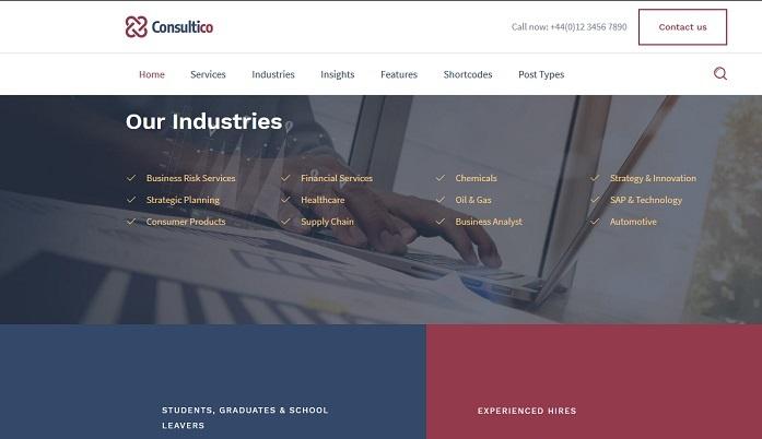 plantillas wordpress para asesorias y consultorias