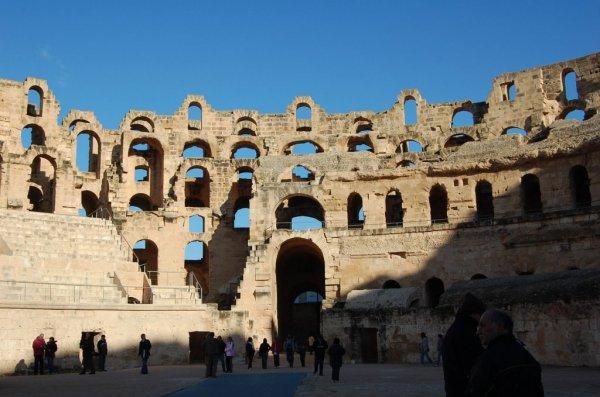 ЭльДжем фото Тунис 10 фотографий ЭльДжема высокого