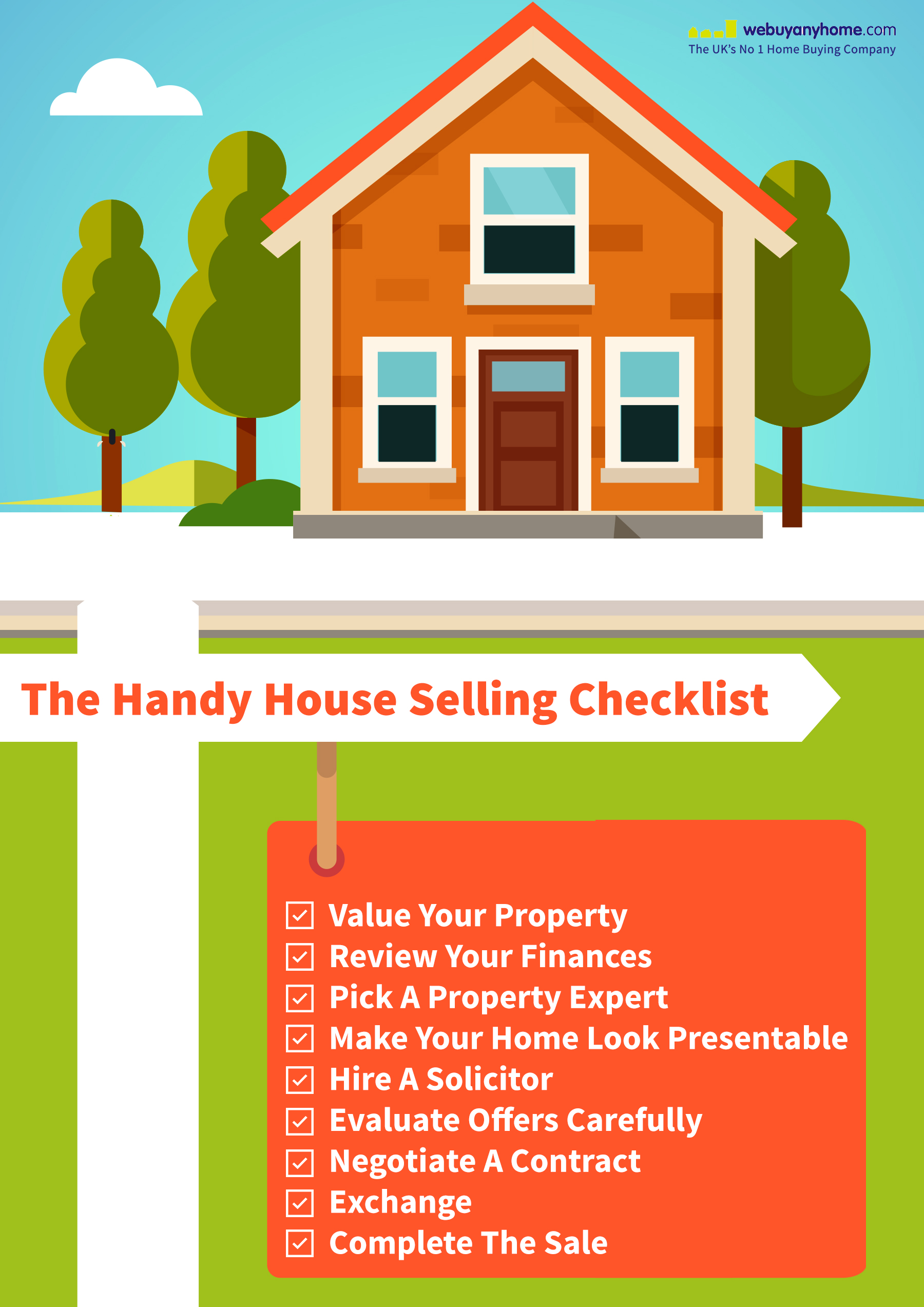 Handy Checklist For Selling A House