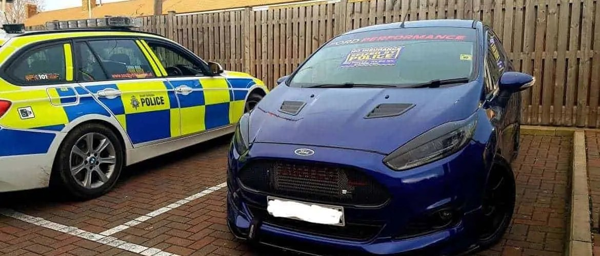 Police Crack Down of Modified Cars Results in Seizure