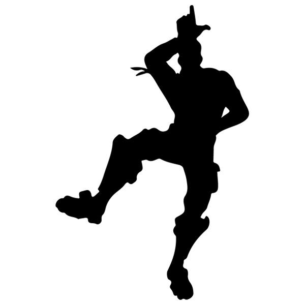 Moves Fortnite Silhouette Dance