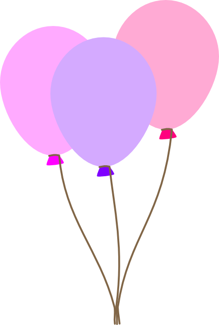 Balloon Clipart Free Graphics Of Colorful Party Balloons