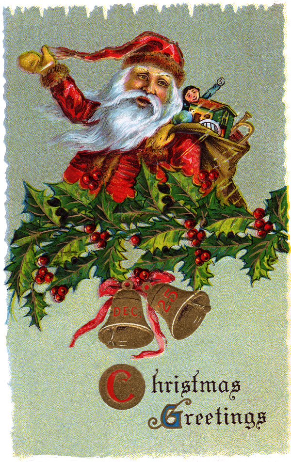 Free Victorian Christmas Clipart