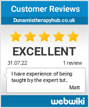 Reviews of dunamistherapyhub.co.uk