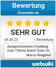 Bewertungen zu gluthelden.de