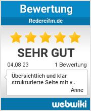 Bewertungen zu redereifm.de