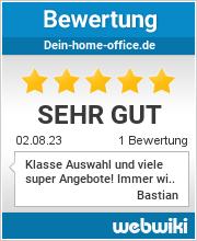 Bewertungen zu dein-home-office.de