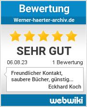 Bewertungen zu werner-haerter-archiv.de