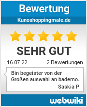 Bewertungen zu kunoshoppingmale.de