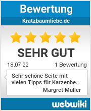 Bewertungen zu kratzbaumliebe.de