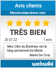 Avis clients de mesclesdubonheur.com