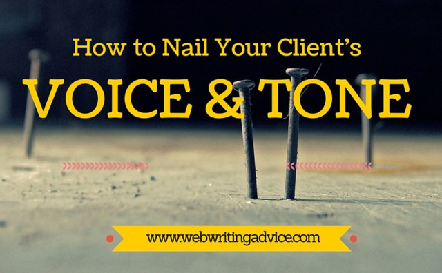 How to Nail Your Client's Voice and Tone