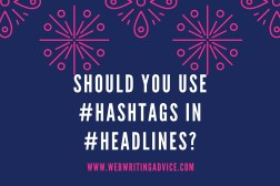 Should You Use #Hashtags in #Headlines?