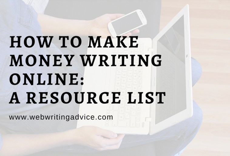 How to Make Money Writing Online: A Resource List