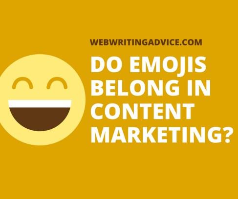 Do Emojis Belong in Content Marketing?